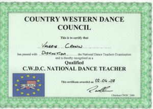 CWDC CERTIFICATE